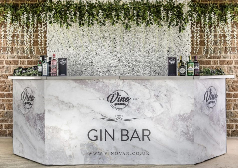Branded Marble bar