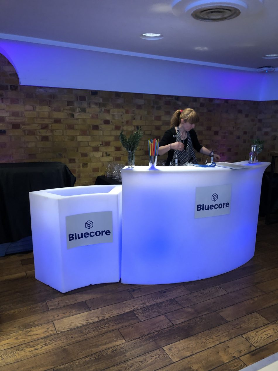 Branded corporate mobile bar service