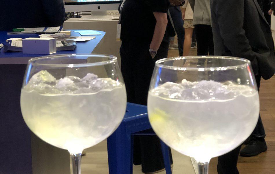 Gin Tonic or hand sanitiser