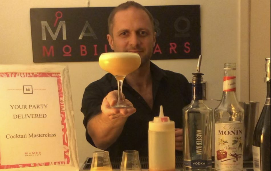 online cocktail class zoom