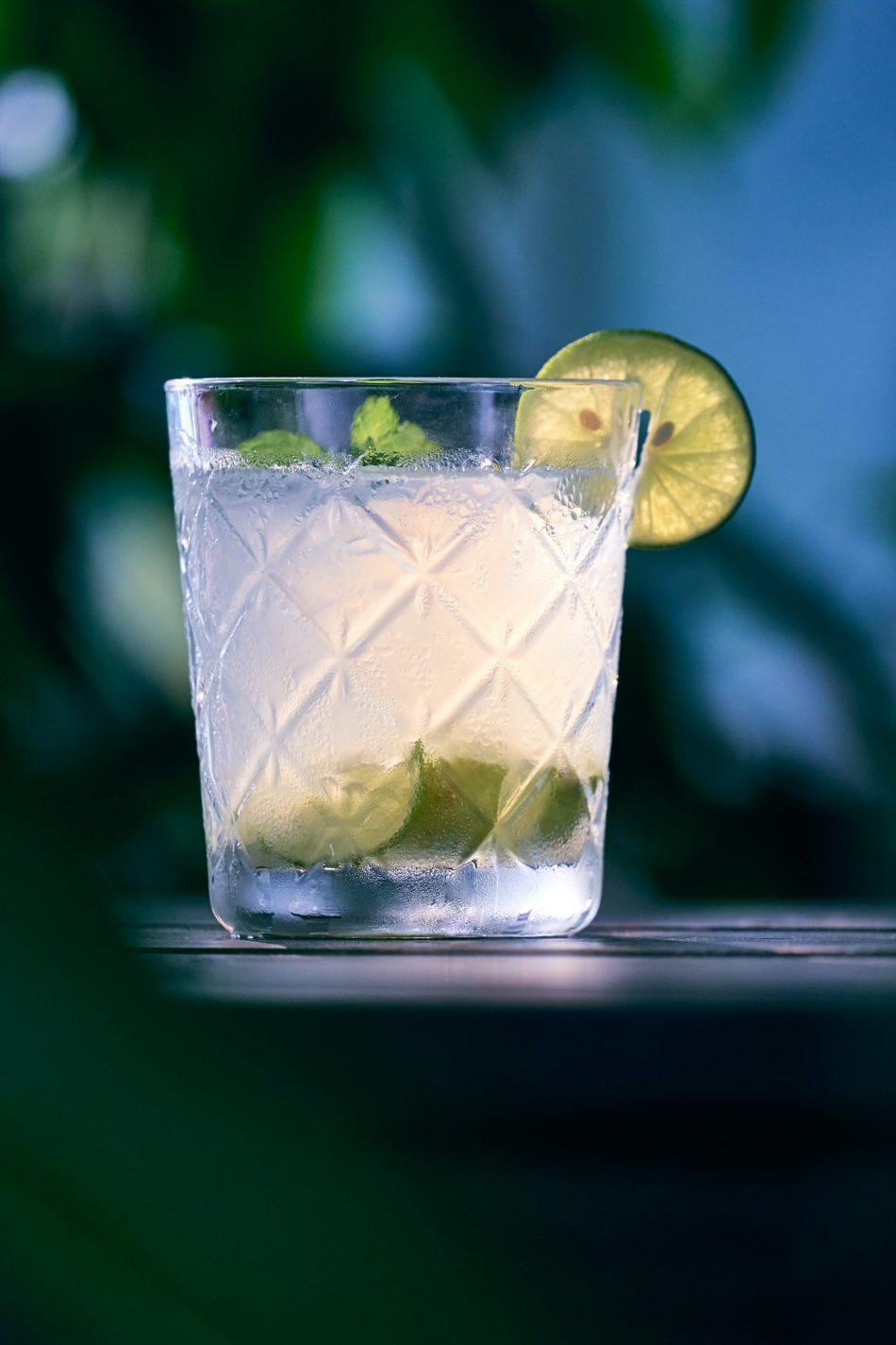 three ingredient rum cocktail